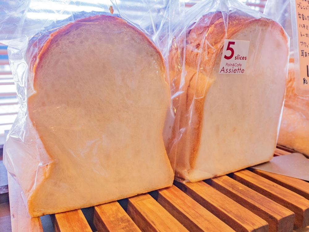 アシェット:国産小麦の山食パン