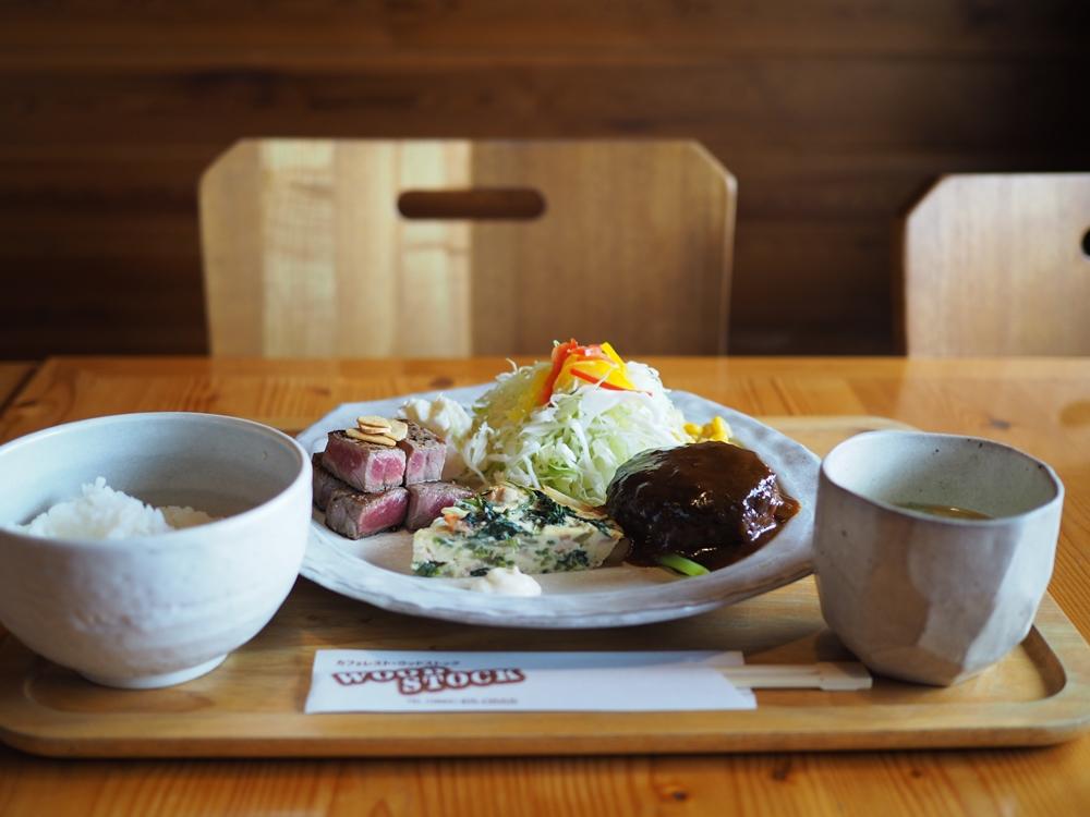 カフェレストWOODSTOCK(ウッドストック) ~ お客様に支えられて16年。木の温もりあふれるみんなのレストラン