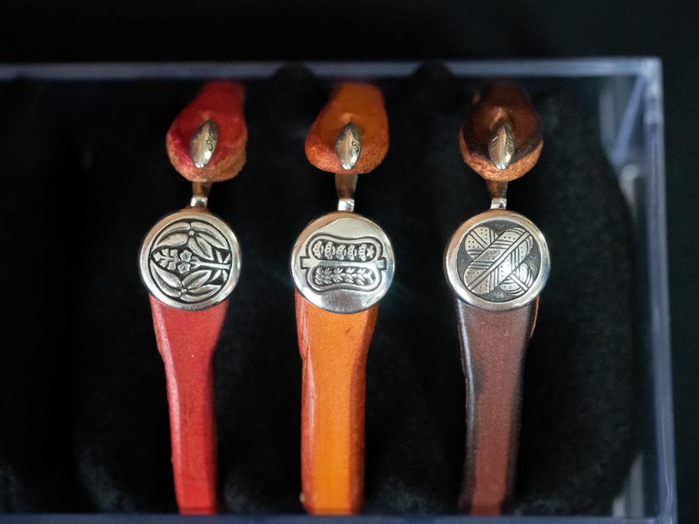 シルバークラフト・マル:福山城主三家の家紋ブレスレッド