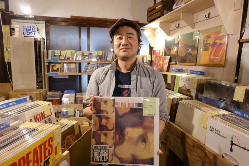 尾道レコード 店長 薄田真樹さん