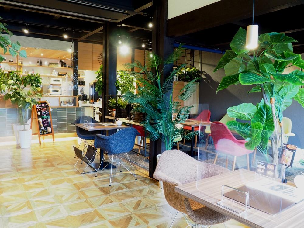 K.D.Cafe 店内