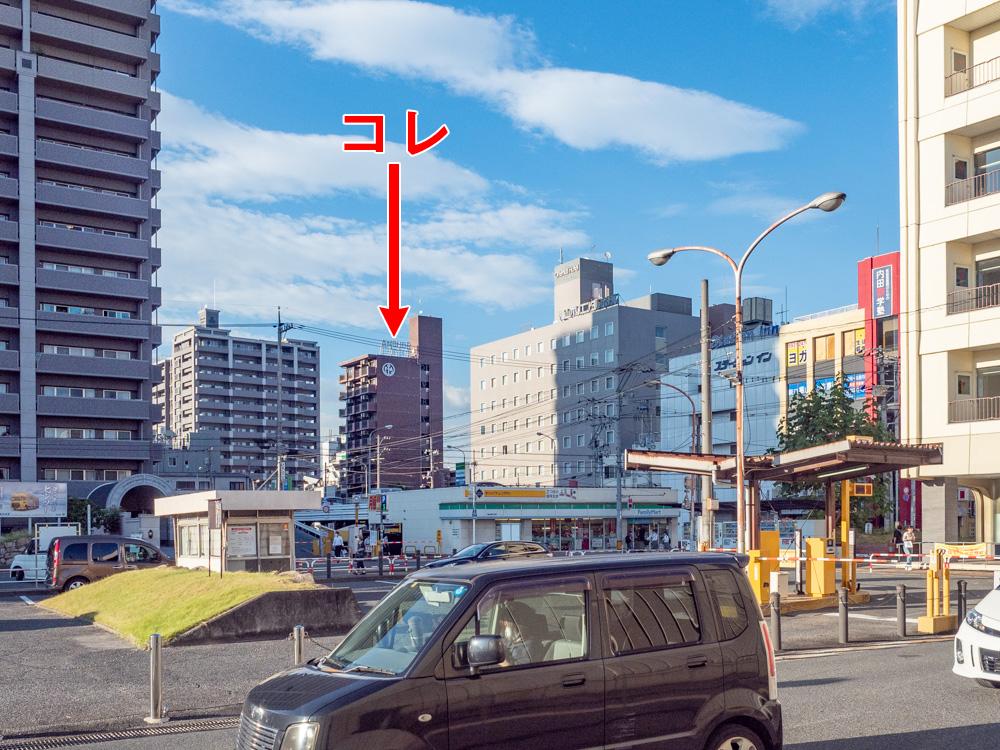 アンカーバー:JR福山駅北口からの行き方
