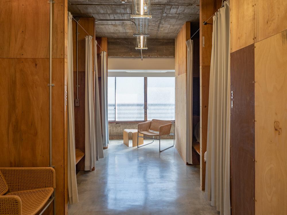 AREA INN FUSHIMICHO:客室 第1棟 3階 女性用ドミトリー
