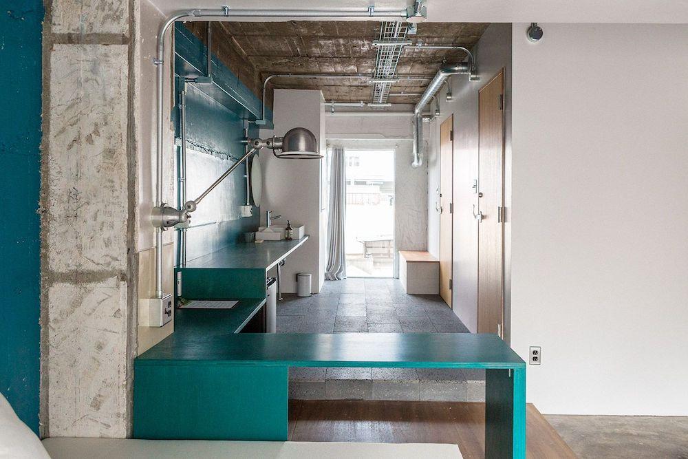 AREA INN FUSHIMICHO:客室 第1棟 4階 個室