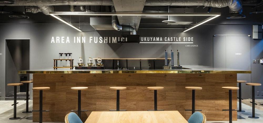 AREA INN FUSHIMICHO:カフェラウンジ カウンター