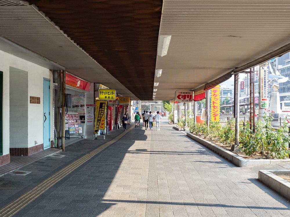 AREA INN FUSHIMICHO:伏見町バスロータリー東沿い