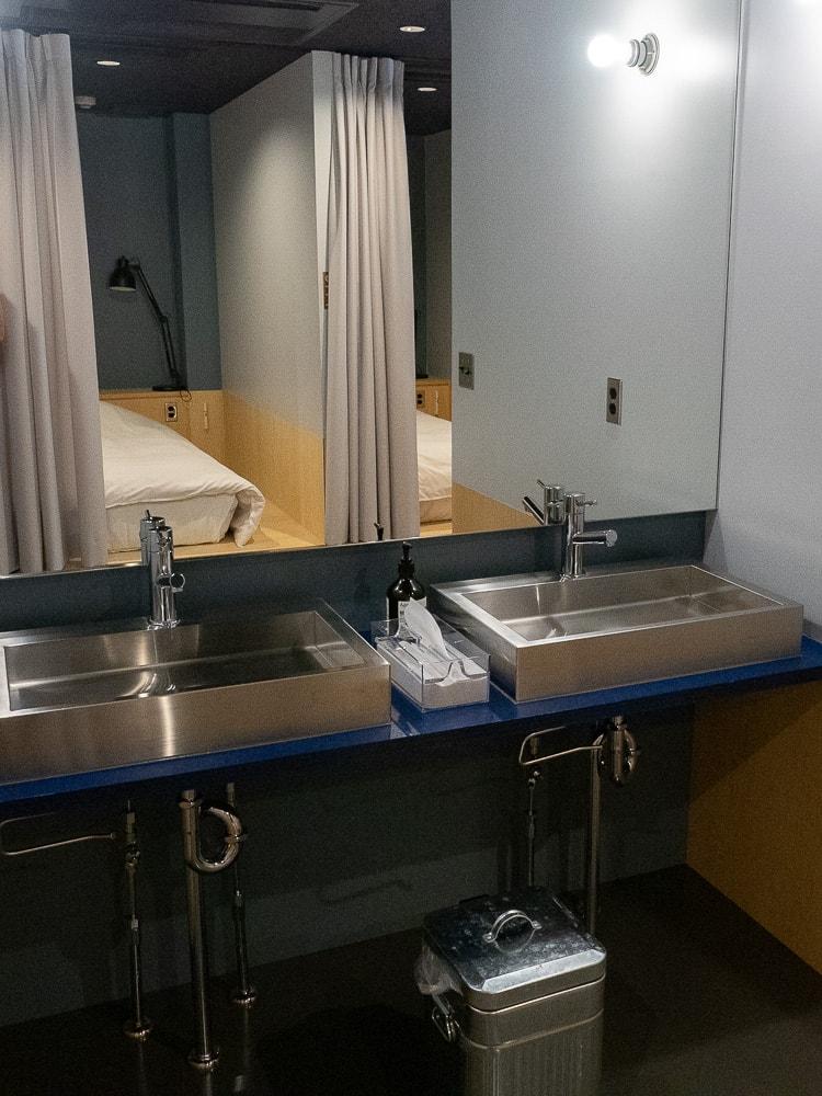AREA INN FUSHIMICHO:客室 第2棟 2階 男性用ドミトリー