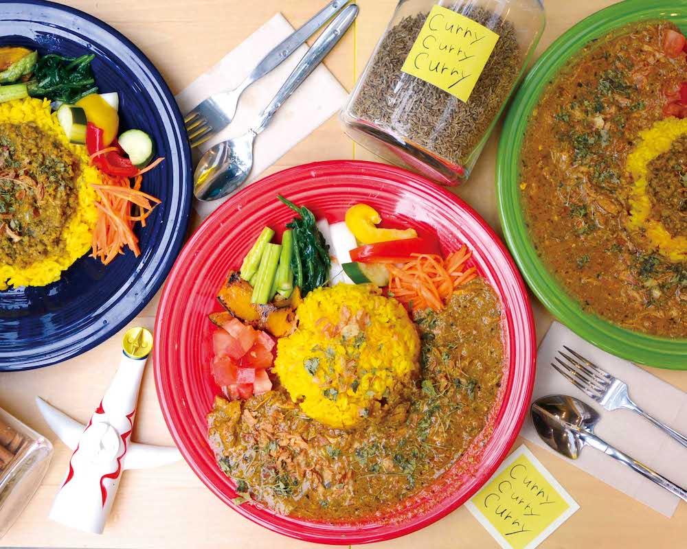 旧水曜カレー 〜 「スパイス感」を楽しめる本格スパイスカレーを福山駅前で!野菜がタップリなのも魅力