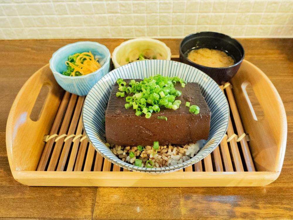 ひろや:豆腐飯