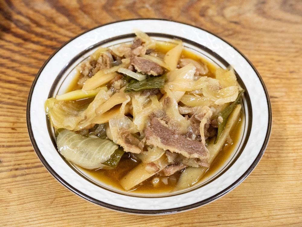 稲田屋:肉皿