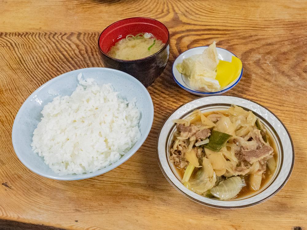 稲田屋:定食