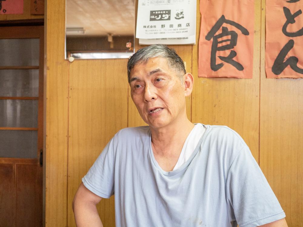 稲田屋:店主・稲田 正憲さん