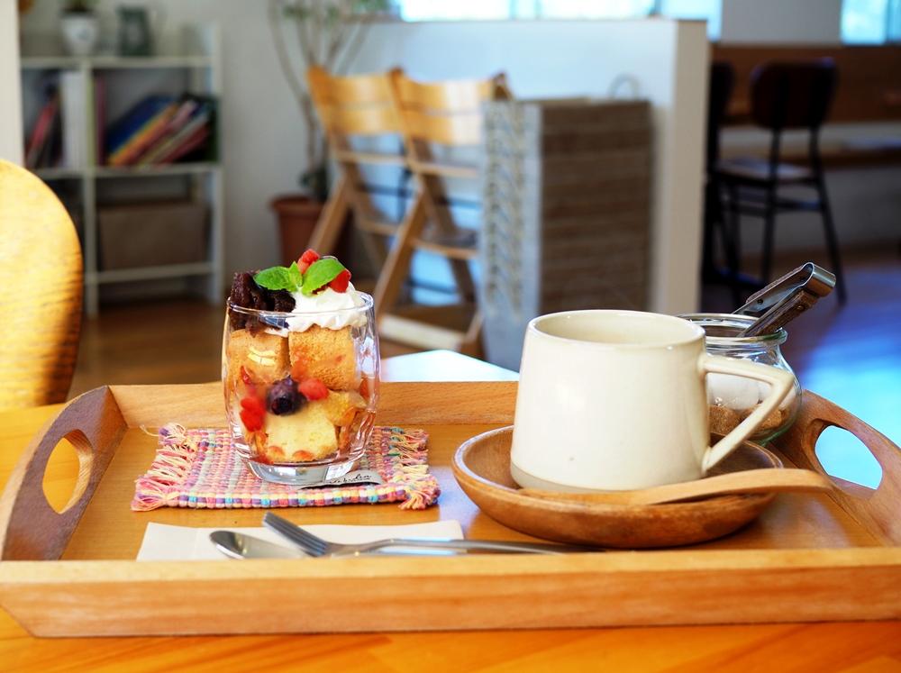 コモドカフェ ケーキセット