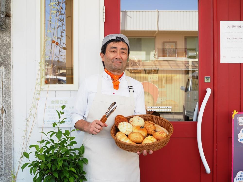 陽だまりパン工房店主 原田泰造さん