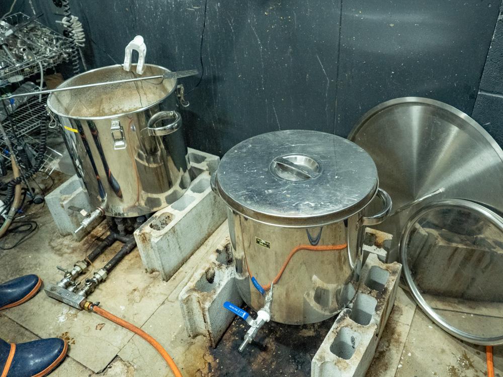備後福山ブルーイングカレッジ&ザ・ビア:醸造所