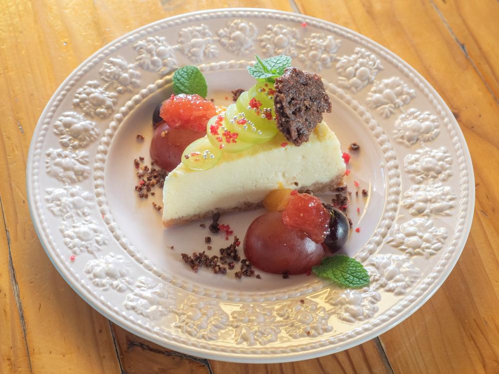 アップルスパイス:ホワイトチョコのベイクドチーズケーキ