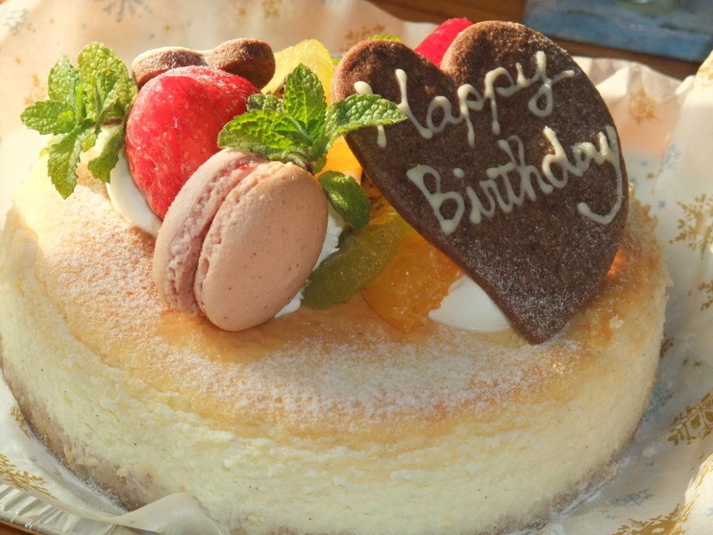 アップルスパイス:バースデーケーキ例
