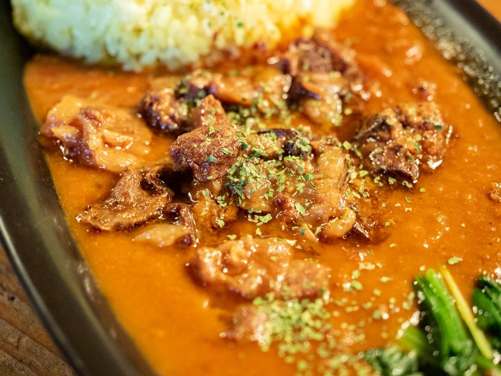 北山カリー工房:広島県産和牛の牛すじ煮込みのカリー 大盛