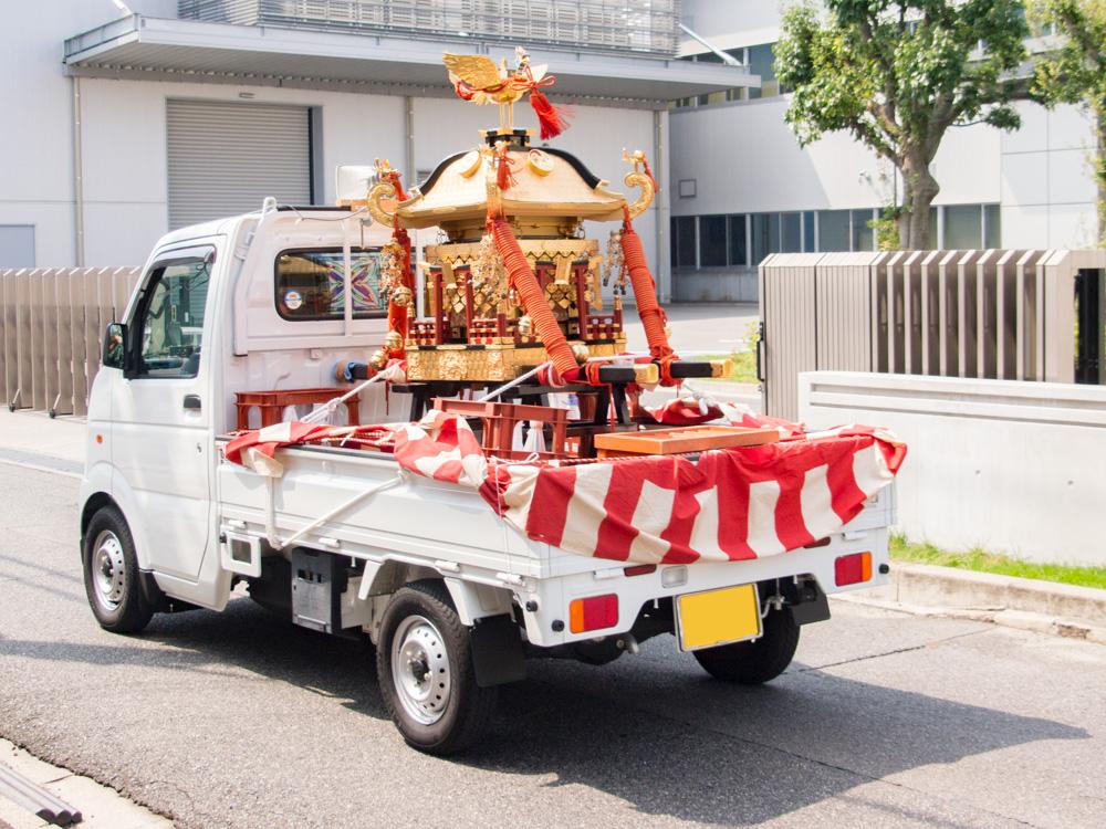 草戸稲荷神社:八幡神社例大祭のようす