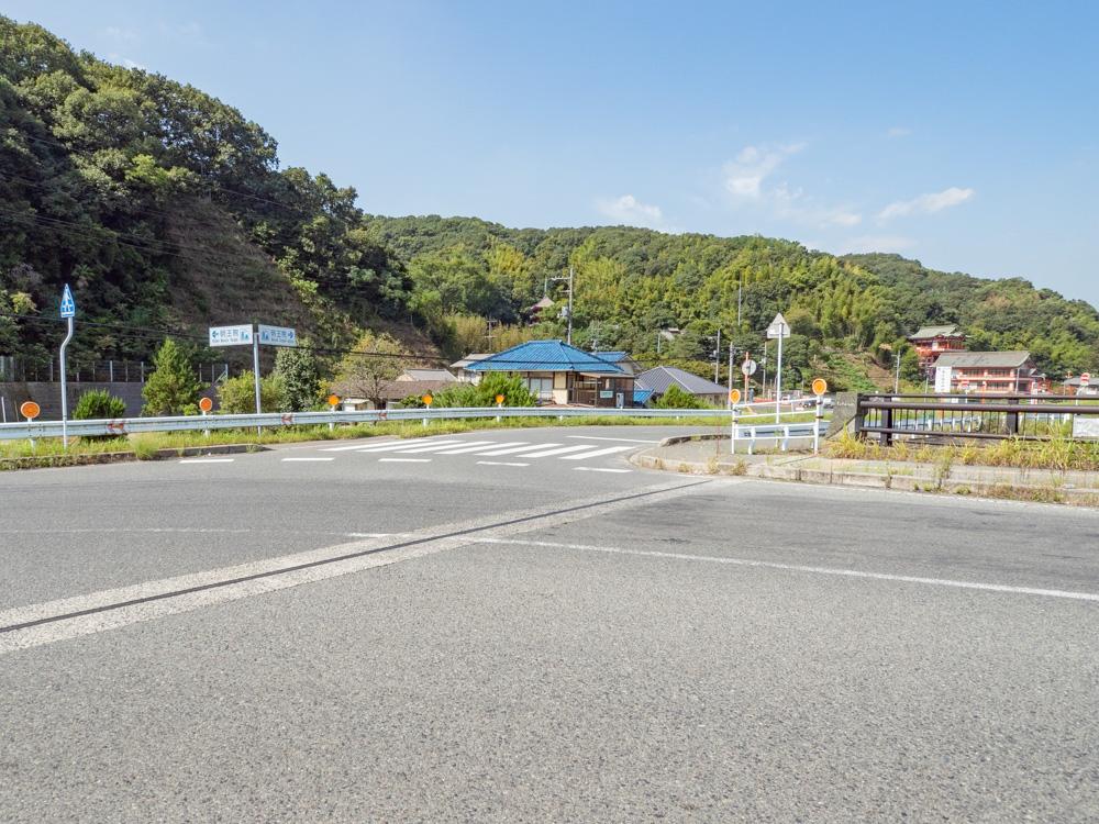 草戸稲荷神社:行き方 常福橋から草戸稲荷神社・明王院方面へ曲がる