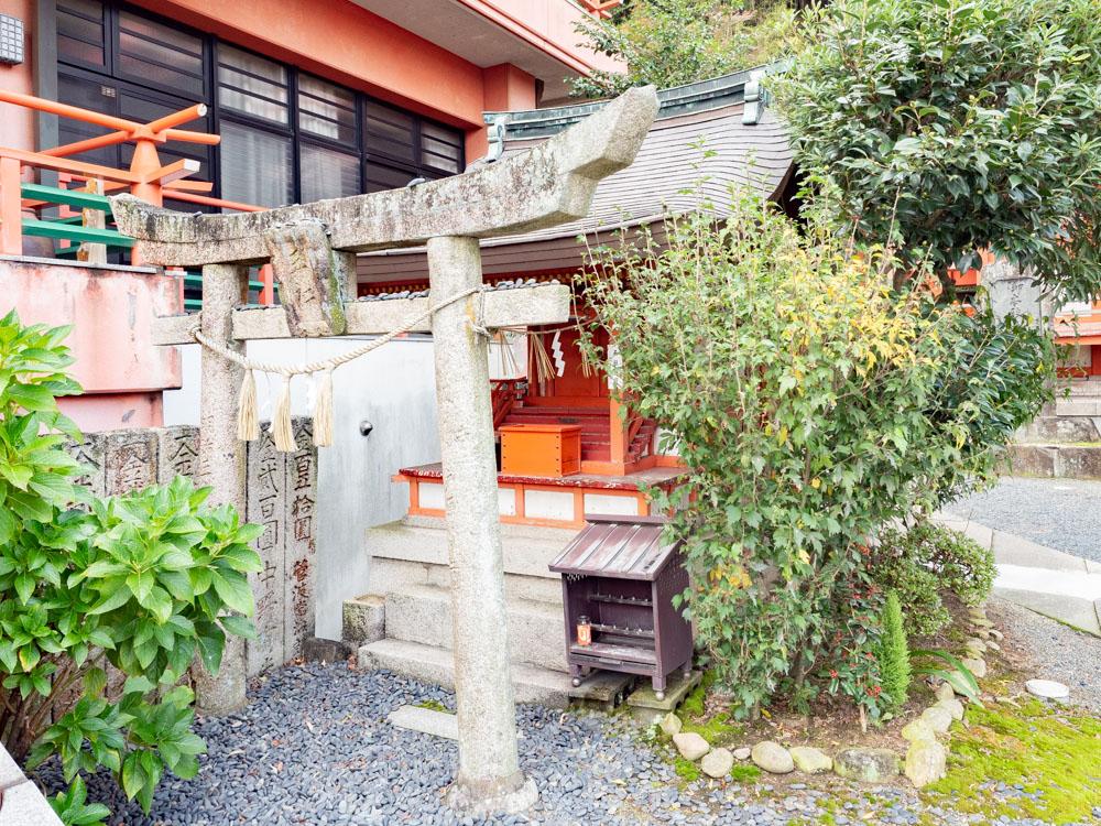 草戸稲荷神社:五社稲荷神社