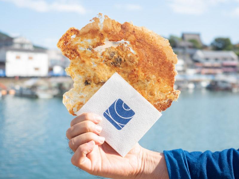 鞆一商店:海鮮せんべい