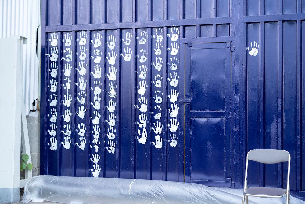 シマヲカナデルMAYA MAXXさんプレイベント奏でる鳥お披露目会みんなで手形