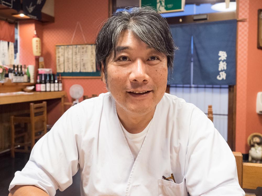栄清丸:店主 大橋央さん