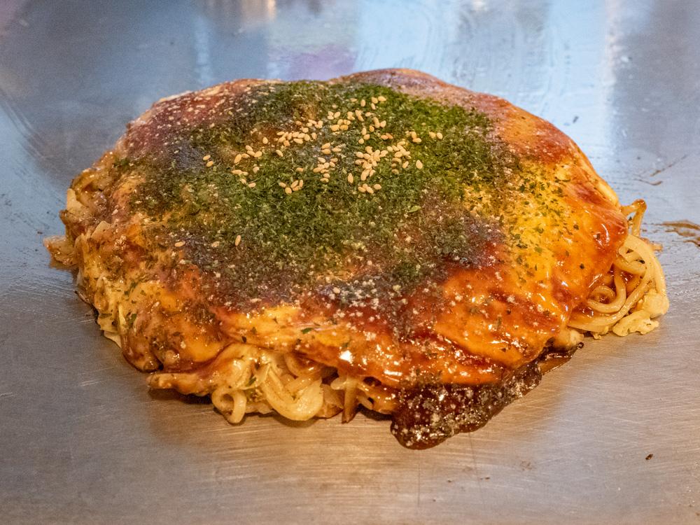 はっせい船町店。〜 こだわりは生麺とキャベツ・オリジナルソース!本場で修業した広島お好み焼を福山で