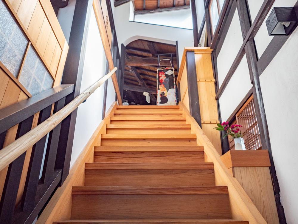 御舟宿いろは:階段