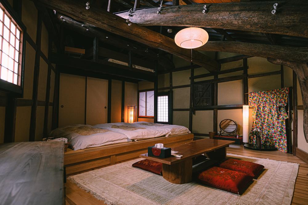 御舟宿いろは:2階 かけおちもの部屋