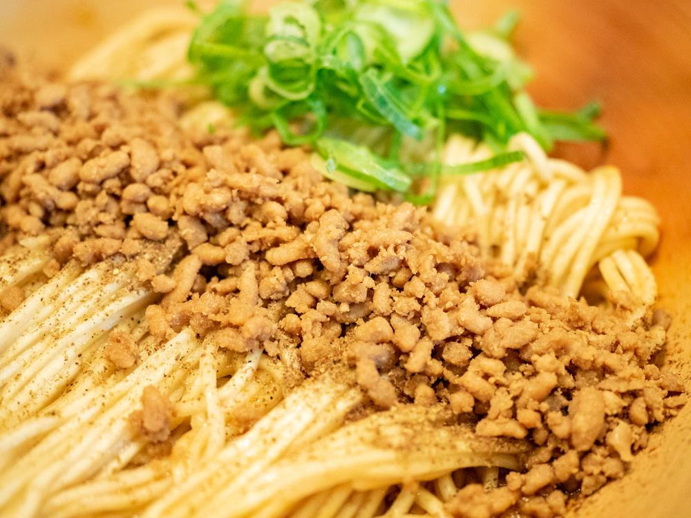 こばやし:汁なし担々麺