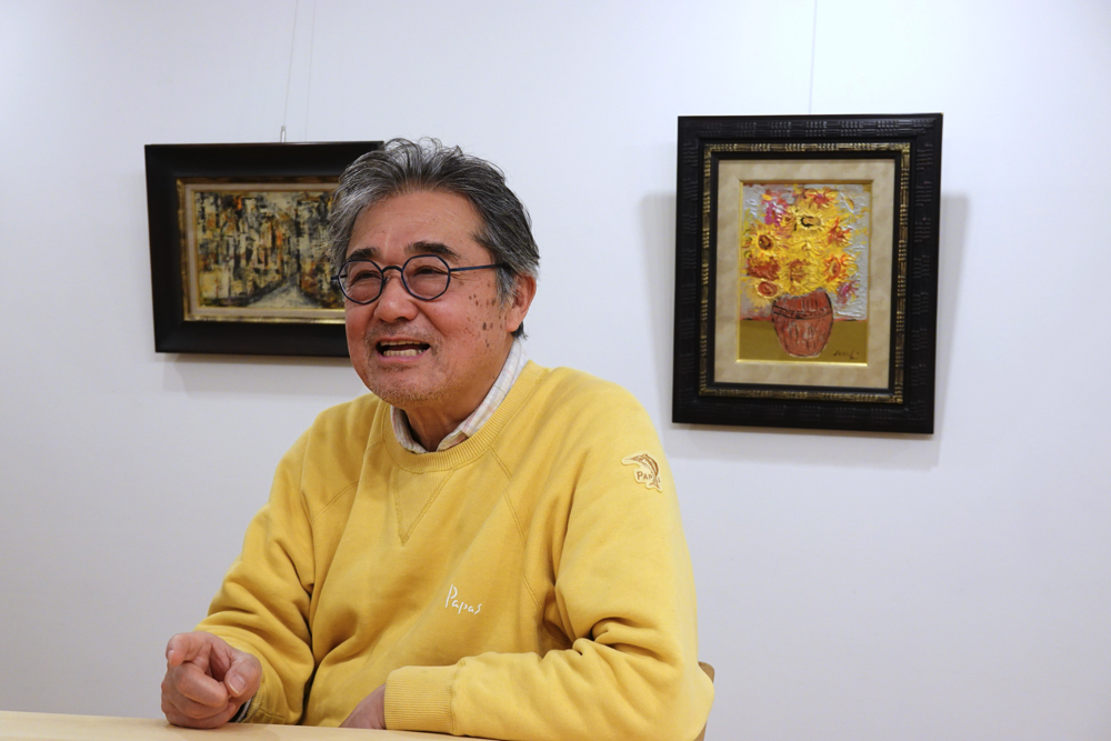羅秀夢 代表 池田秀志さん