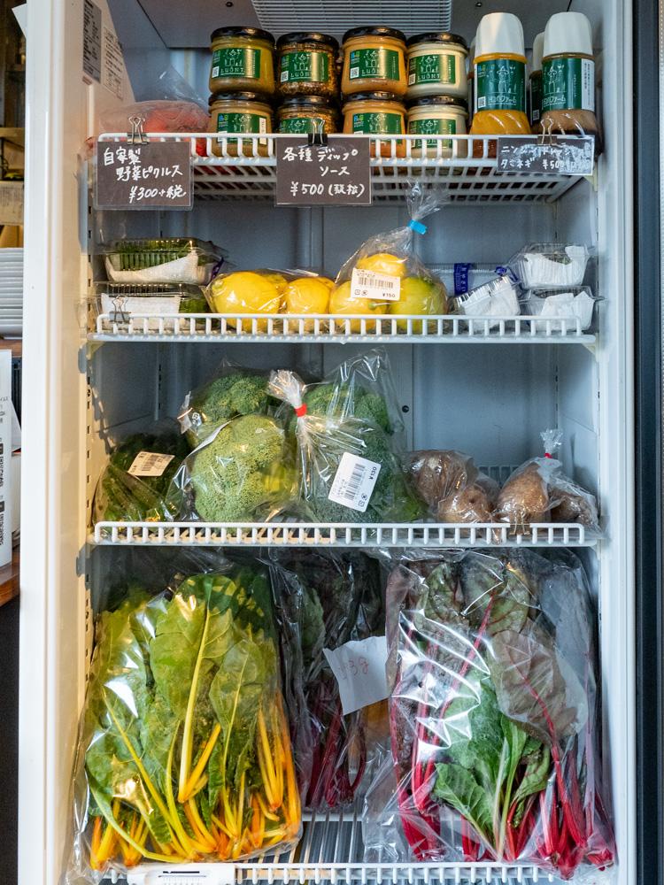 ルオント:販売野菜・ドレッシング