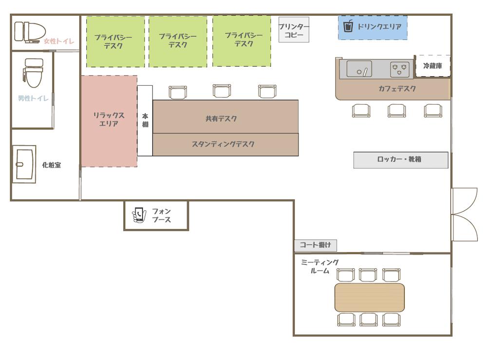 オミラボ:館内図
