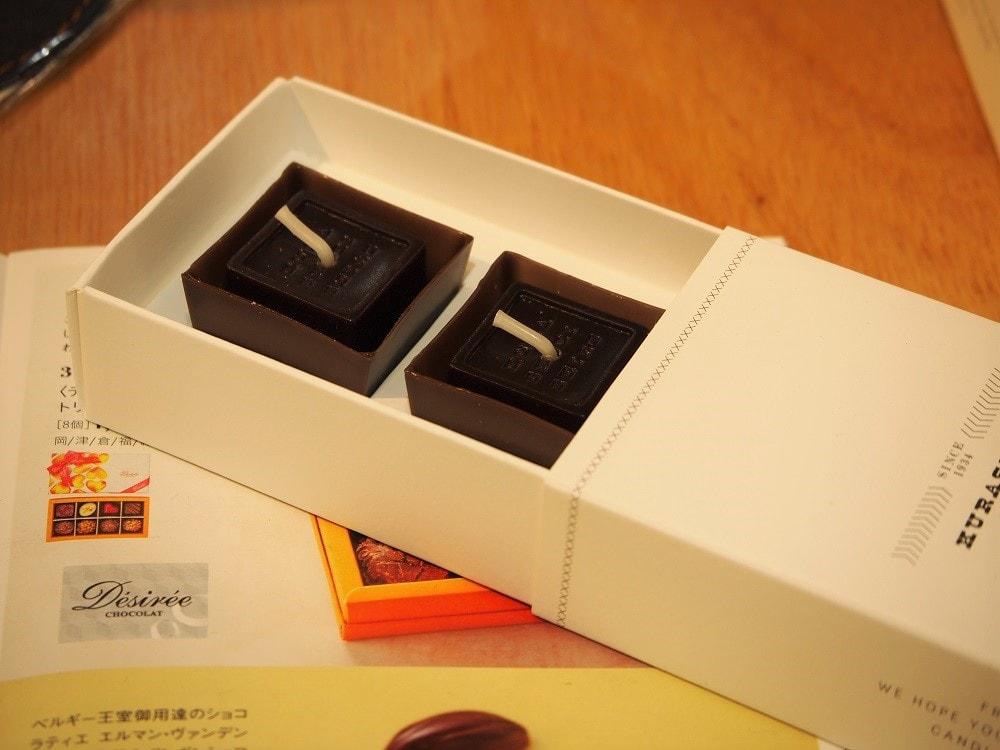 FUKUYAMA MONO SHOP 店内 チョコレートキャンドル