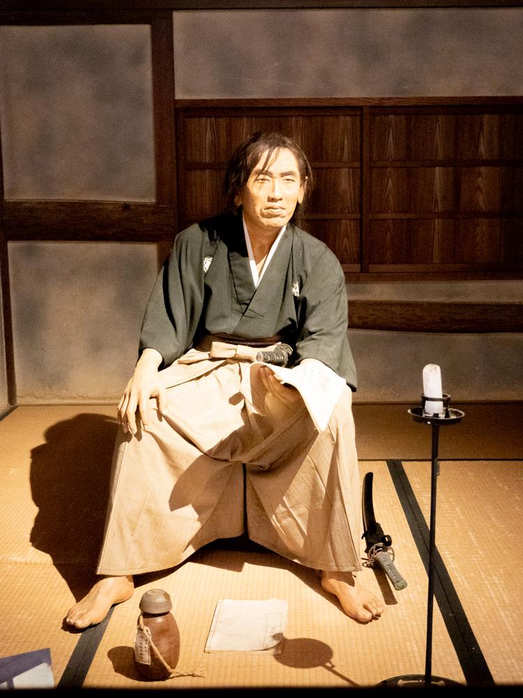 いろは丸展示館:坂本龍馬人形