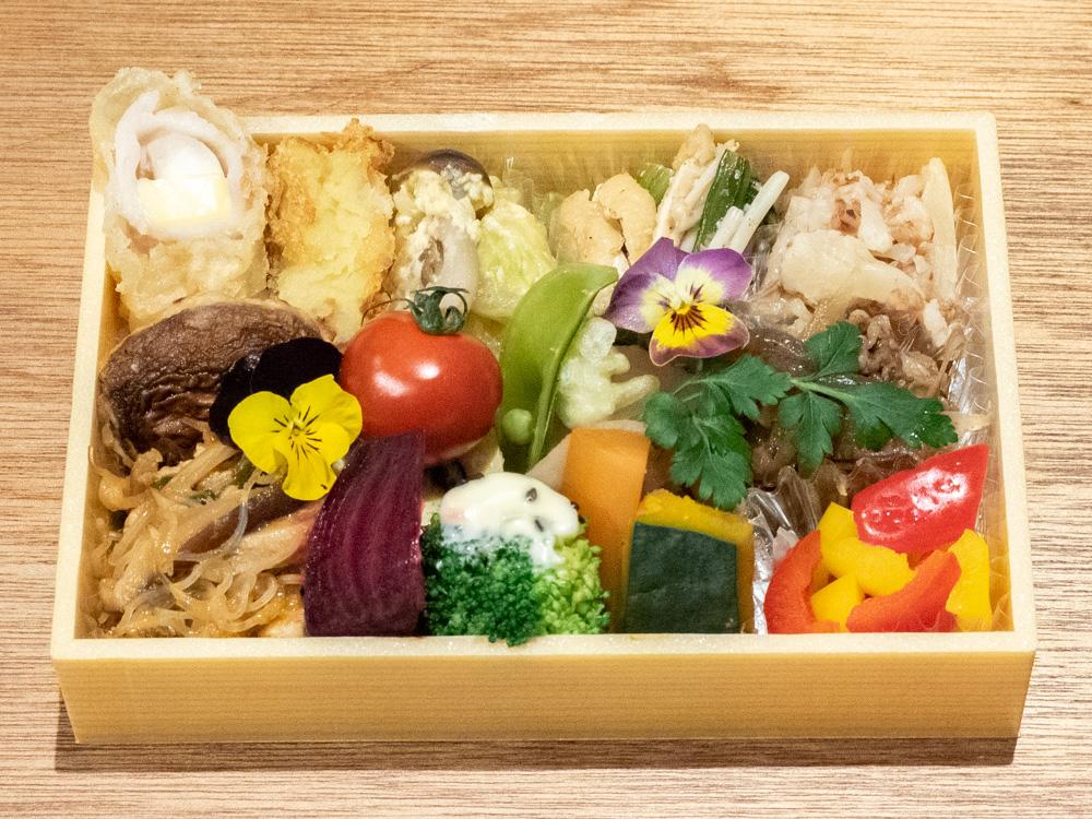 かみてつ青果店:野菜弁当