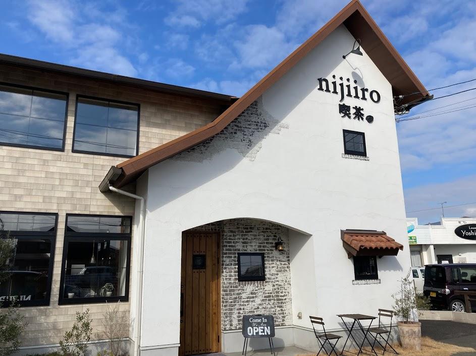nijiiro喫茶。外観