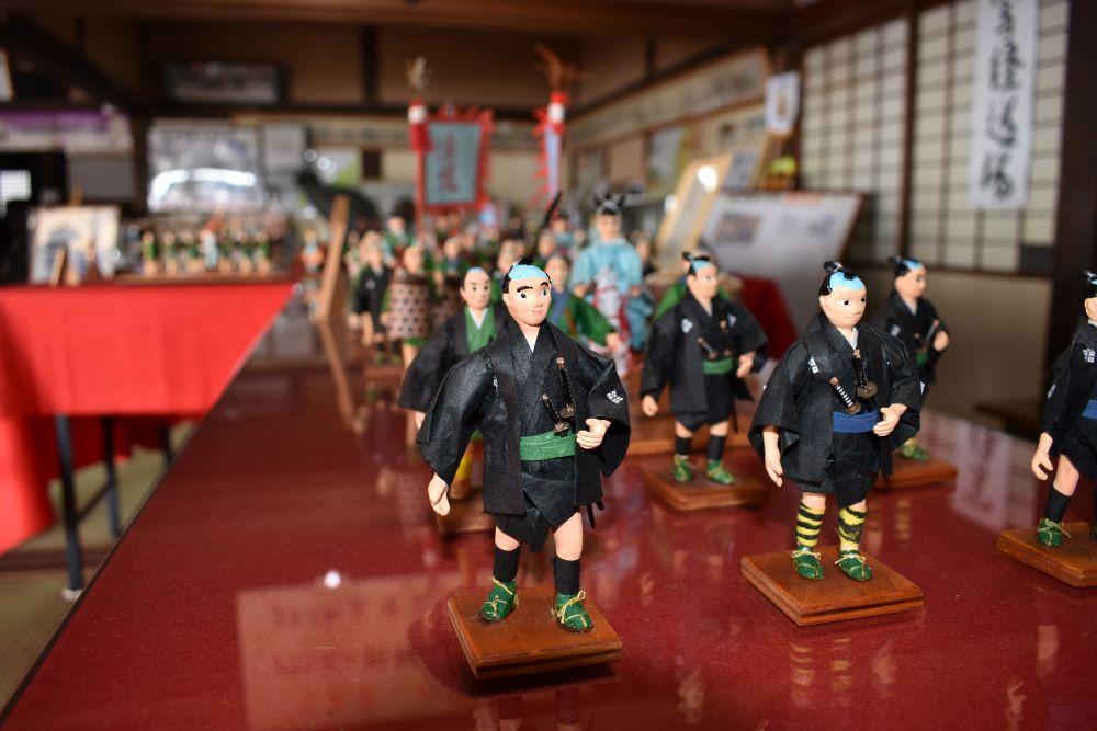 朝鮮通信使行列人形