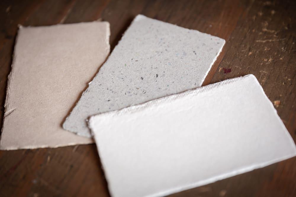 和紙のカード