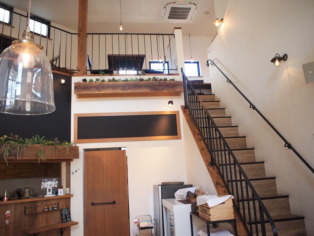 nijiiro喫茶。階段