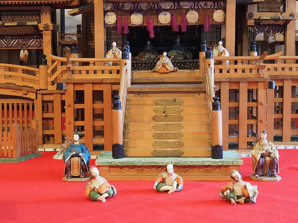 鞆の浦歴史民俗資料館の雛飾り