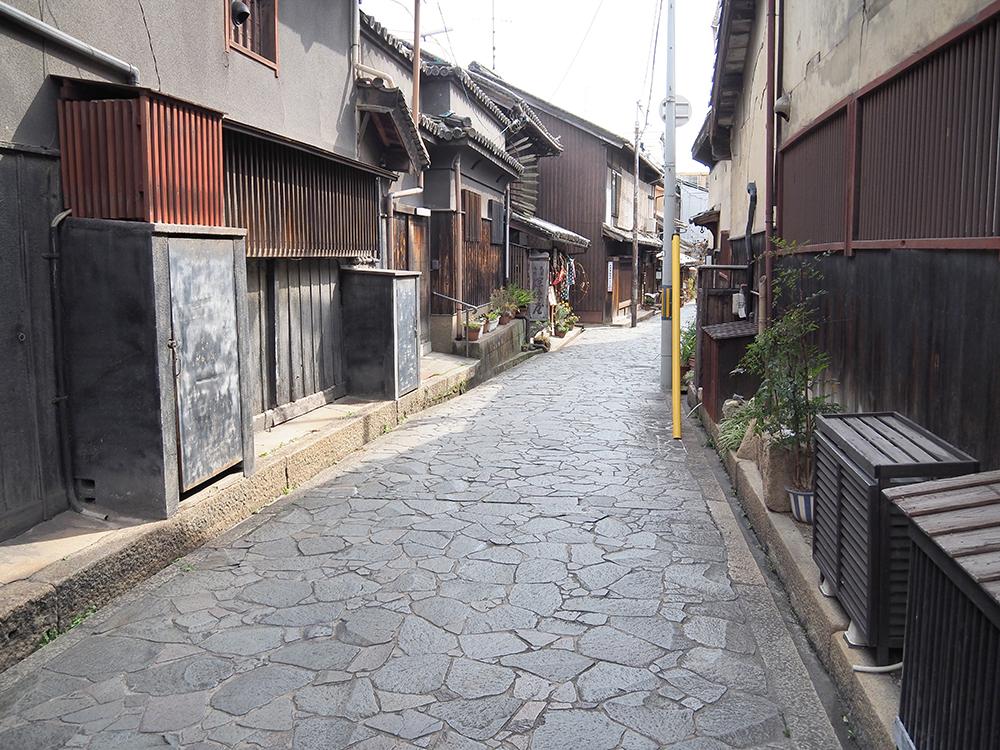 鞆の浦の石畳