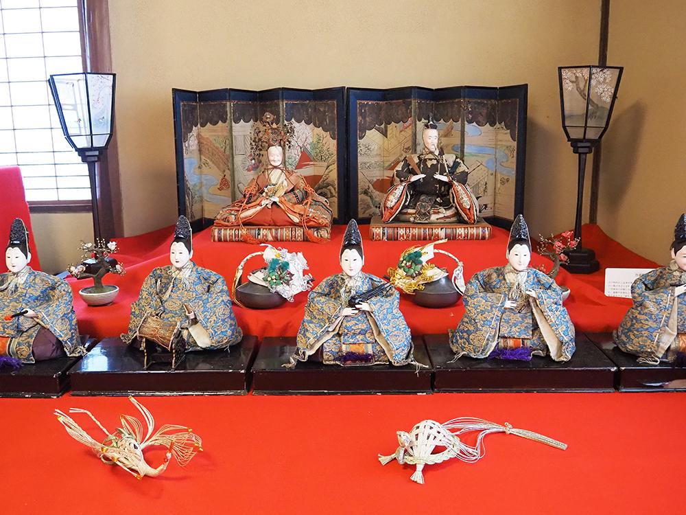 太田家住宅の雛飾り