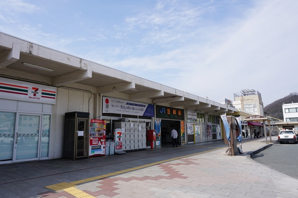 JR笠岡駅改札口