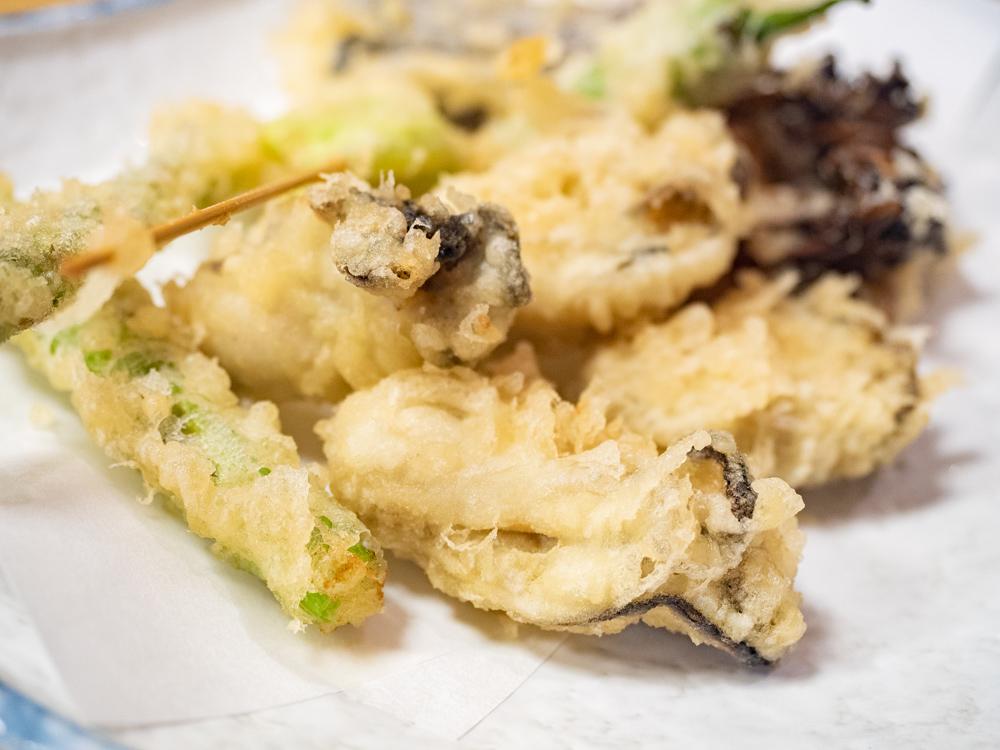 栄清丸:寄島牡蠣の天婦羅