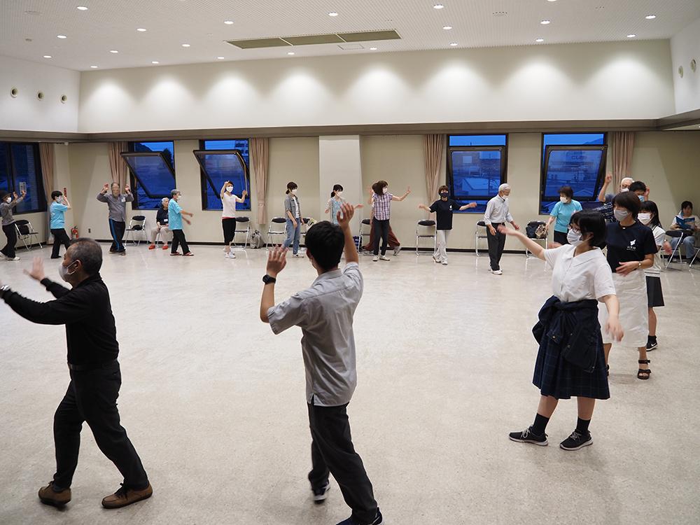 白石踊講習会