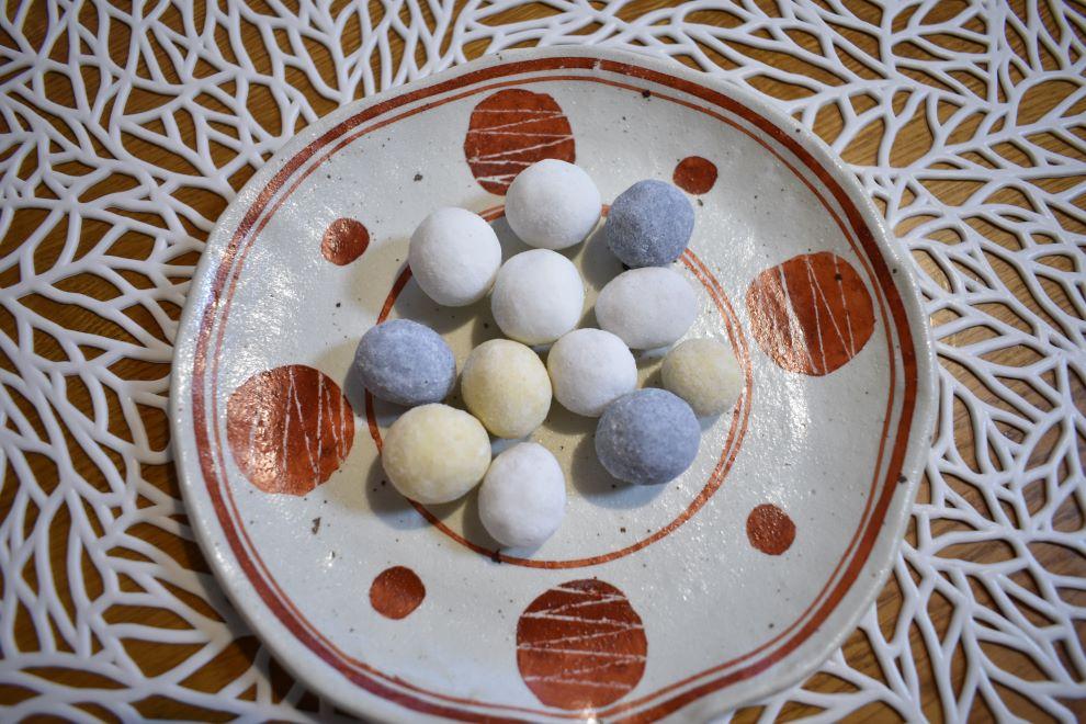三色ラムネ豆