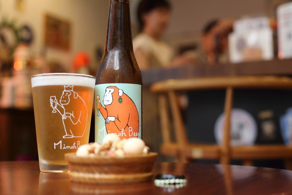 箕面ビールのおさるIPA